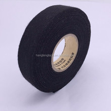Black cloth webbing tape used for wrapping wiring looms and repairing