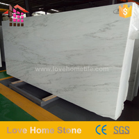 Hot Sell Customized size Hight quality interior &amp exterior pure white marble grade a white marble price