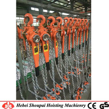 manual construction lever hand chain hoist for factory