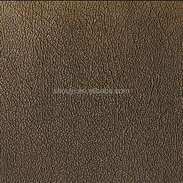 Newest textured pu leather material for 3d embossed wall panel