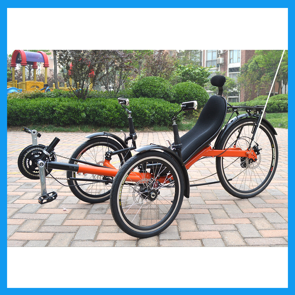 Recumbent Tricycle Touring