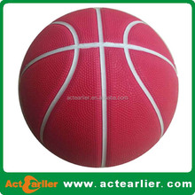 Professional Size 2 rubber basketball made in China