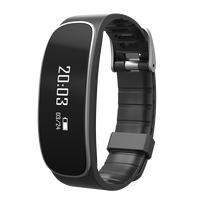 H29 Wristband Smart Watch 2016 hot Heart Rate Sleep Monitor Fitness Tracker Bracelet free step counter