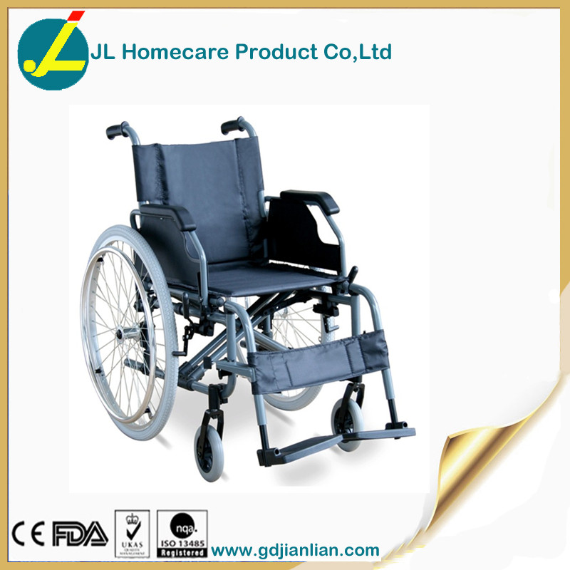 Rehabilitation therapy supplies properties aluminum wheelchair flip-up armrest JL955L