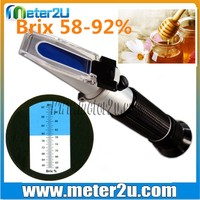 Honey Testing Equipments Refractometer Calibration 58~92%
