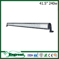 40 inch Driving Light Bull Bar With Waterproof IP68 Led Truck Work Lights Bar Offroad