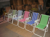Good quality personalized hot sale folding beach chair,cheap Outdoor steel spring beach chair