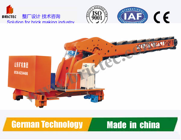 Hydraulic Multi-bucket excavator used for brick factory