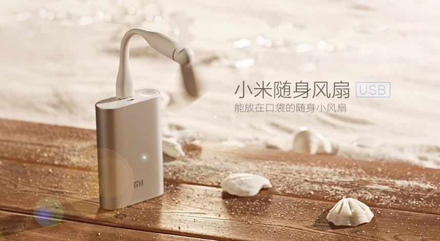 In Stock Original Xiaomi USB Fan Flexible USB Portable Mini Fan