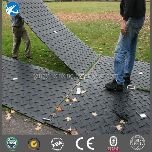 UHMWPE Building Site Driveway Temporary Ground Reinforcement Mats