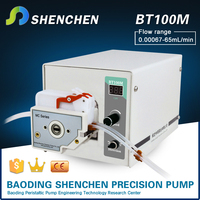 Basic type good quality design of peristaltic pump, factory directly supply peristaltic pump