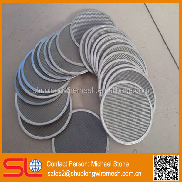 HOT! 316L stainless steel filter discs