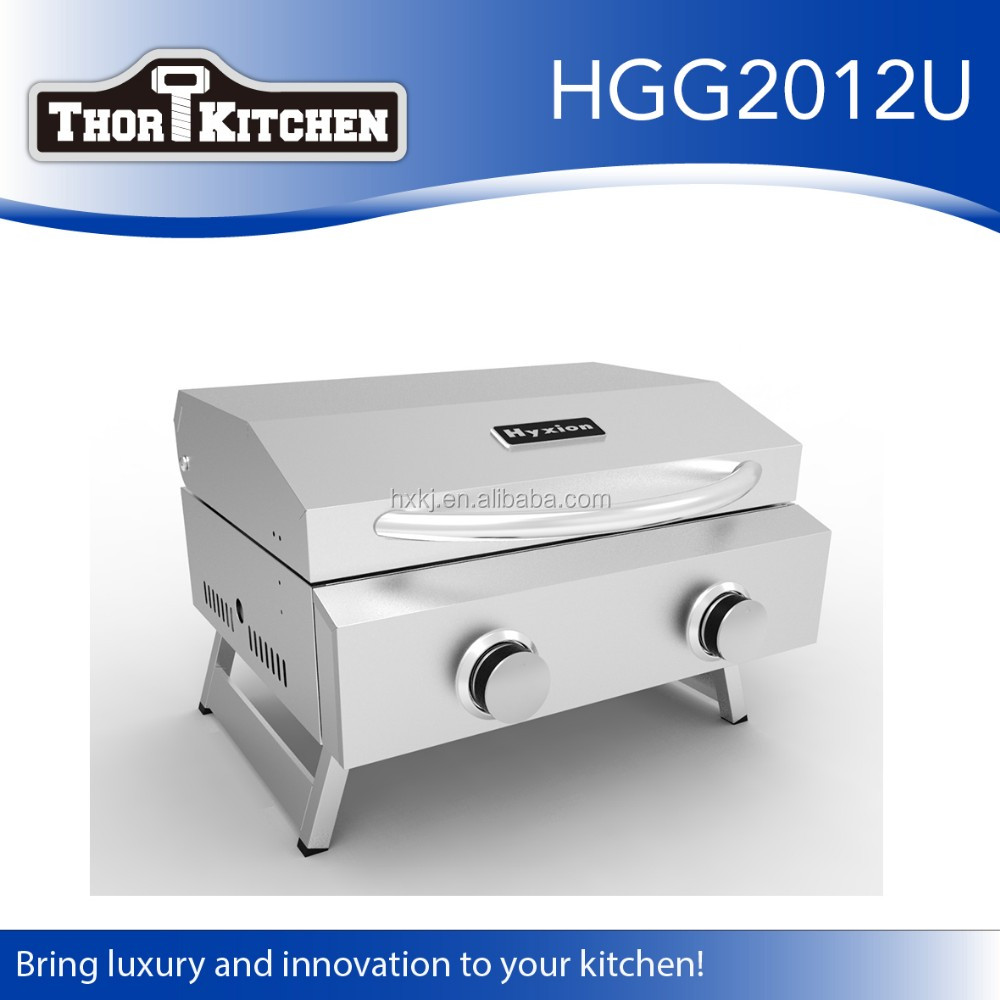 Outdoor portable gas marine bbq