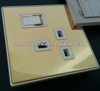 13ampere Golden mirror internet controlled power switch