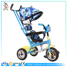 Made in china new model child tricycle 4 in 1 mini kids trike baby lexus tricycle with music and light