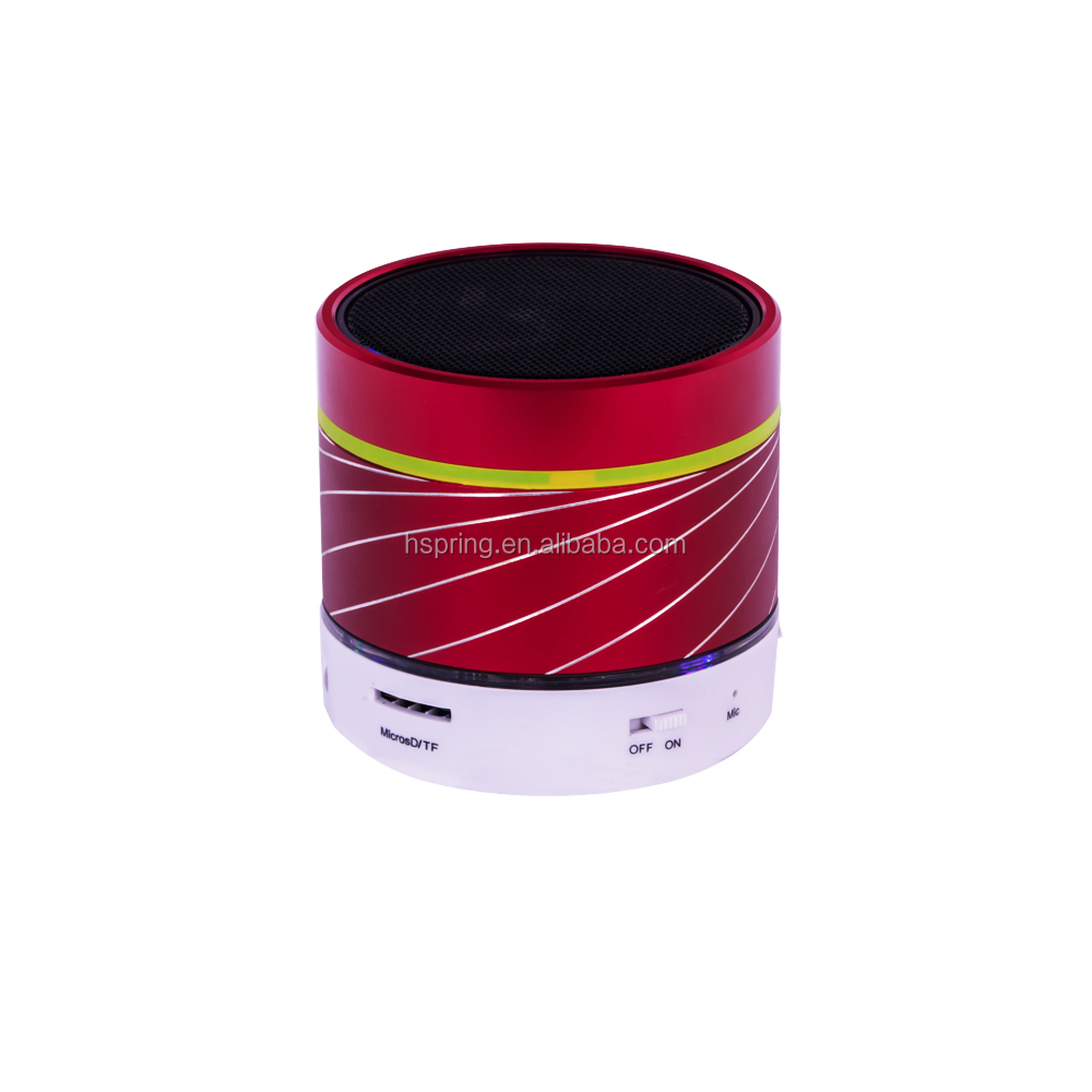Classic waterproof custom made mini portable bluetooth speaker