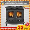 Electric fireplace wall mounted ef431 Kindle cast iron outdoor fireplace customized