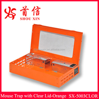 Wholesale the better pest control ptoducts mouse catcher rat control mice box SX-5003CLOR