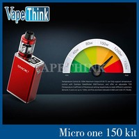 2016 Newest SMOK Micro One 150 TC Starter Kit 150w 1900mAh mod battery with Minos sub tank kit