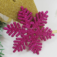 outdoor ornament christmas hanging snowflake cheap red plastic christmas snowflake