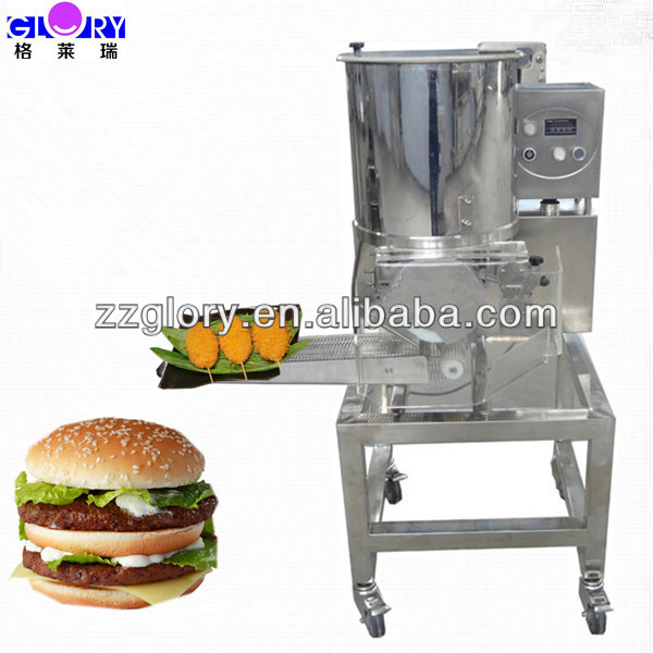 2100pcs/h Commercial Use Hamburger Patty Former