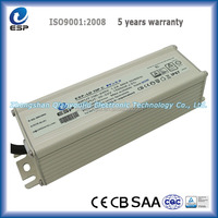 70W Waterproof constant current LED transformer for illumination lighting