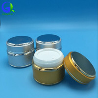aluminum cream jar face cream jars cream empty 15g 30g 50g