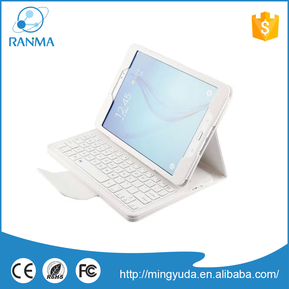 Customized protective tablet pc leather Tab A 9.7 keyboard case for Samsung