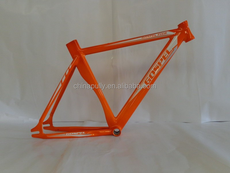 aluminum road bike frame fixed gear bicycle frame