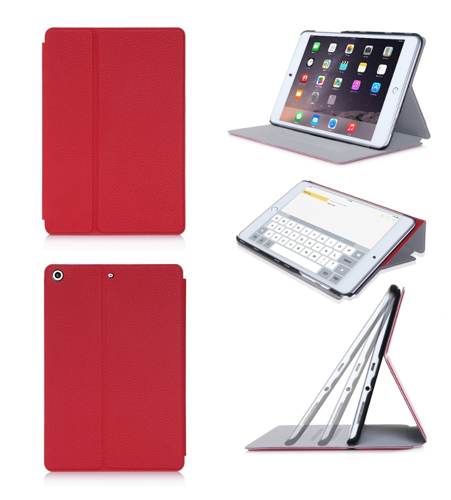 Hot Selling PU Leather Smart Tablet Case Cover for Kids with Multi-viewing Angle for iPad Mini 4