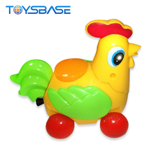 Pull Line Small Plastic Toy Chicken For Kids