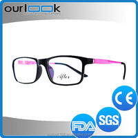 Latest Design Double Colors TR90 Material New Model Optical Frame Korea