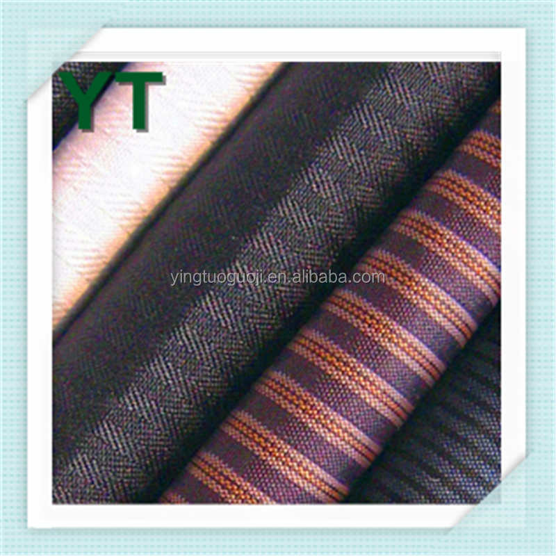 China Manufacturer Twill 45*150D 110*76 Dyed TC Pocketing Fabrics