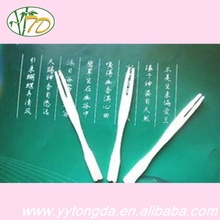 New promotion personalized disposable dessert fruit fork