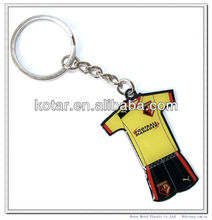 football Tshirt keyring