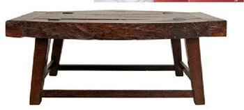 Rustic Coffee Table - Designs From The Historical Record- STJ454