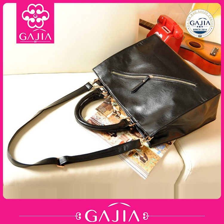big special bag PU leather handbags ladies shoulder bag made in china