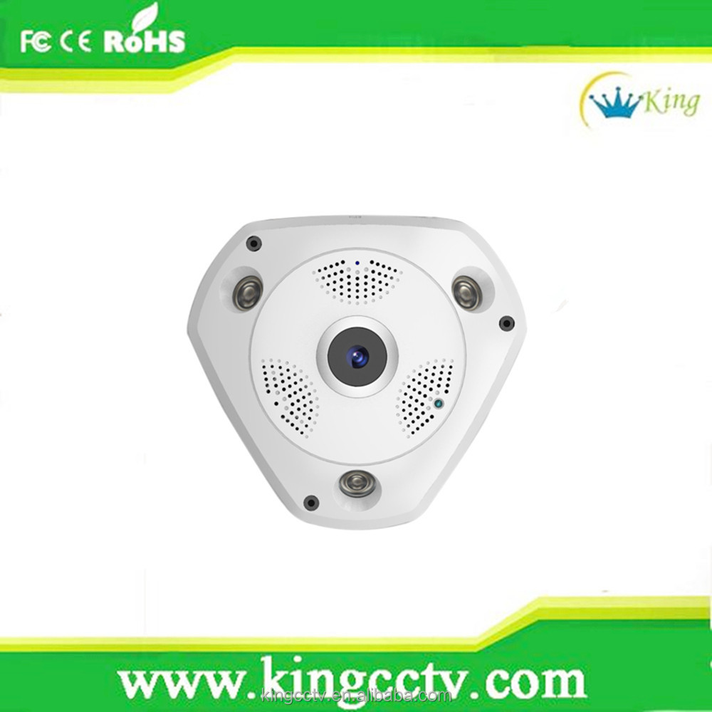 360 Degree Fisheye IP Camera Multi - model Fish eye lens HD 1.3MP 3D VR CCTV Camera Security Support SD Card