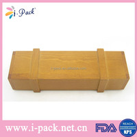 Wholesale special design natural bamboo reading glasses case