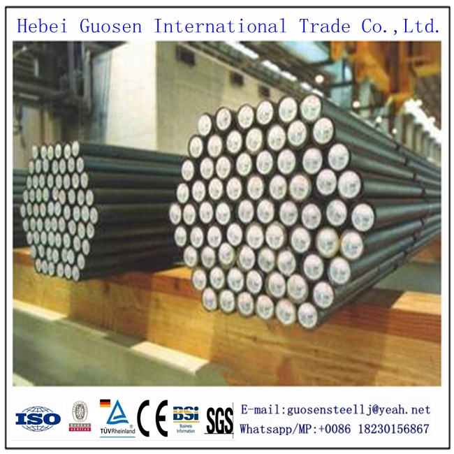 AISI 4140, JIS SCM440 hot rolled carbon alloy steel round bars