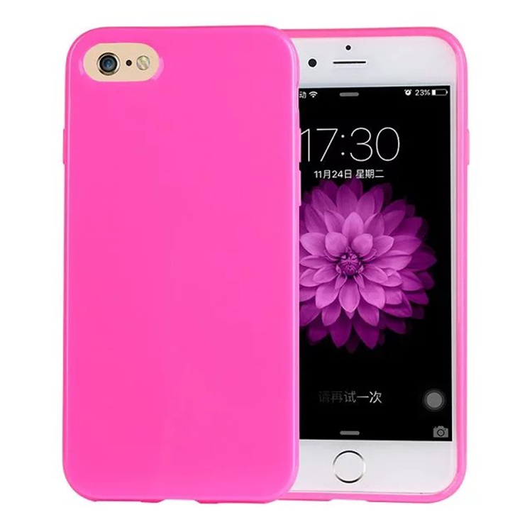 New Arrival Smart Phone Protective Case Candy Colors Soft TPU Silicon Mobile Cases for Iphone 7