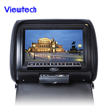 "9"" Touch Screen headrest dvd for all car /Built in speaker/IR/FM/USB/SD/TV"