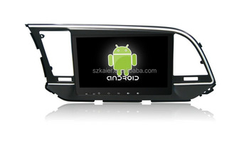 Quad core! Android 6.0 car dvd for ELANTRA 2015 with 9 inch Capacitive Screen/ GPS/Mirror Link/DVR/TPMS/OBD2/WIFI/4G