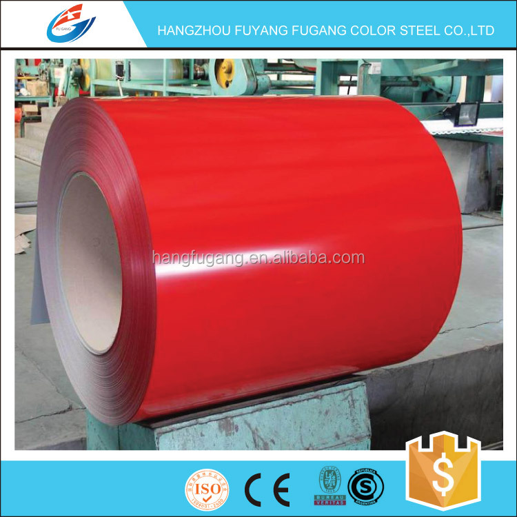 Prepainted GI steel coil color coated galvanized for corrugated metal roofing sheet