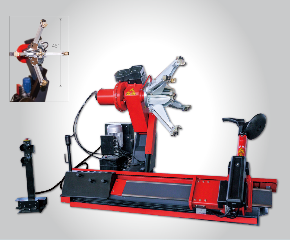 Full automatic heavy duty truck tyre changer used for tire change HL-5980