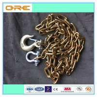 Low carbon alloy steel chain galvanized steel link