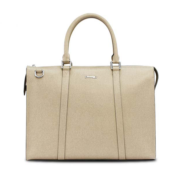 Factory Direct Design Handmade White Custom Genuine Italian Leather Bag