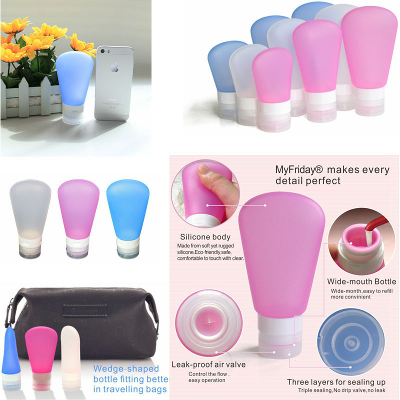 Small Liquid Containers/Food Grade, TAS Approved Silicone Bottle Smart Small Liquid Containers