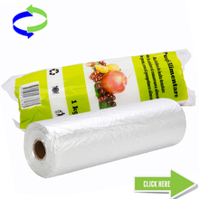 Wholesale Transparent Plastic Packaging Food Bag in Rolls---Food Grade