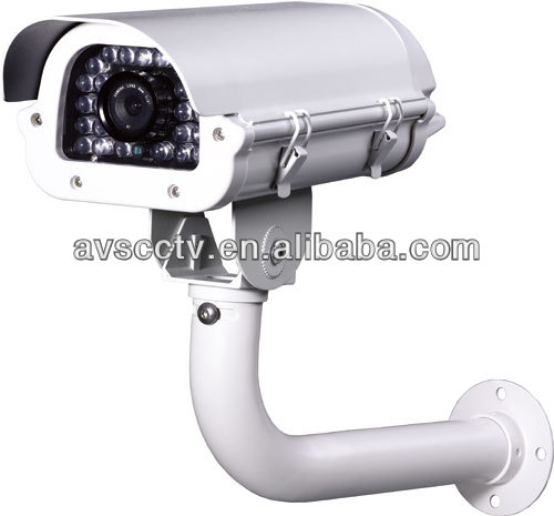 High Sensitivity IP67 Outdoor Waterproof Surveillance Systems Sony CCD License Plate Recognition Camera